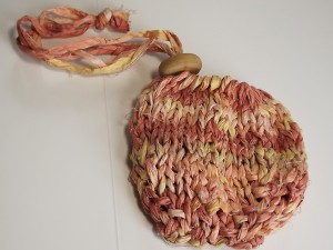 recycled silk ribbon project