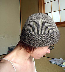 Monk Hat by Sarah Chilson